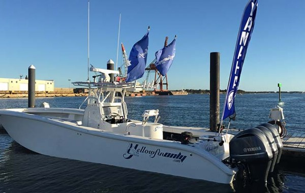 Team Yellowfin Only Boat